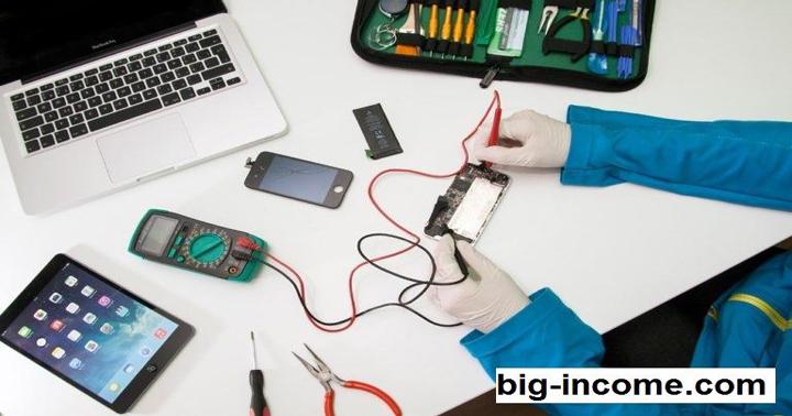 راه اندازی تعمیرات موبایل