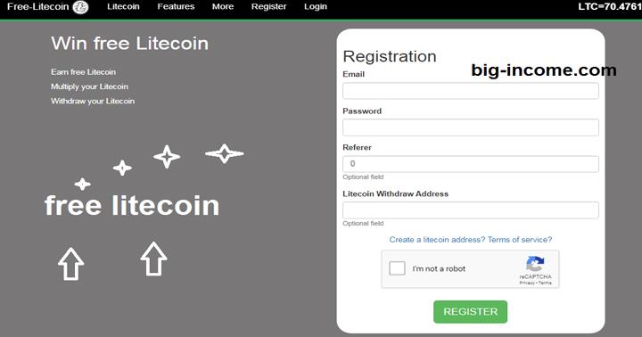 لایت کوین رایگان با free-litecoin
