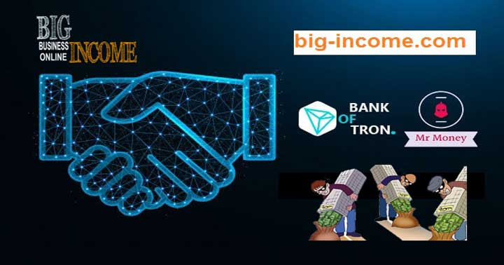 Bank of Tron طرح کلاه برداری