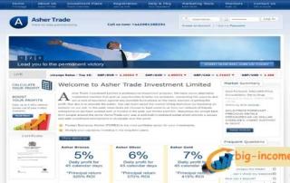 سرمایه گذاری دلاری در Asher Trade