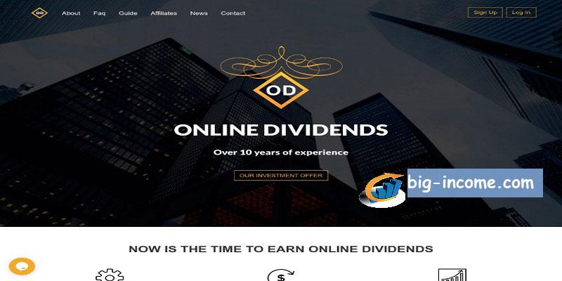 سرمایه گذاری در onlinedividends