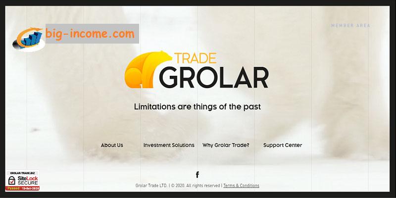 کسب درآمد دلاری با grolar trade