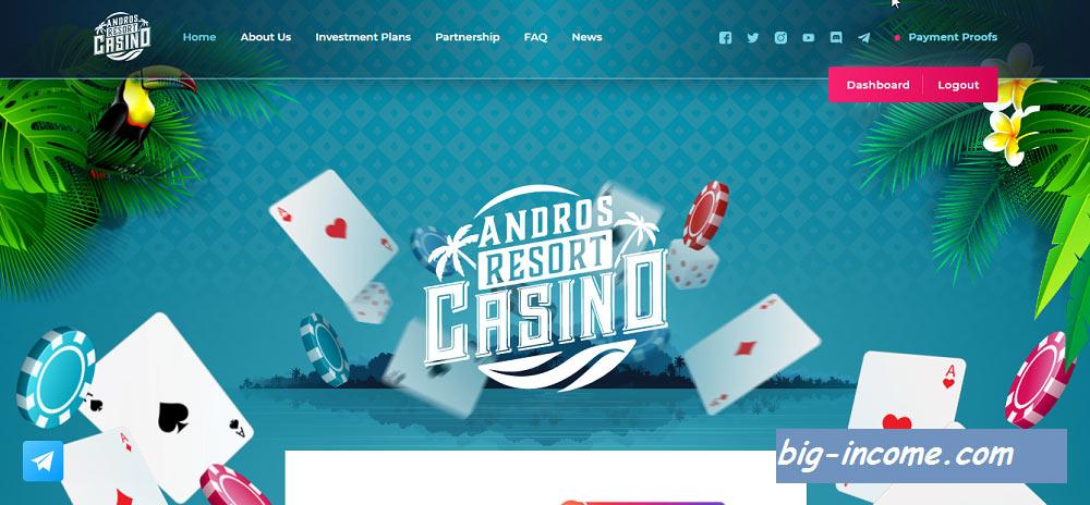 کسب درآمد از andros casino