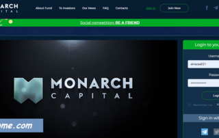 سایت Monarch Capital