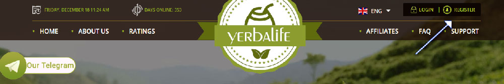 sign up yerbalife