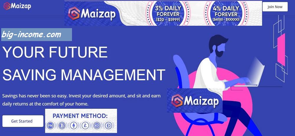 سایت سرمایه گذاری maizap
