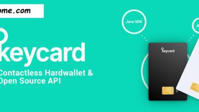 معرفی کیف پول سخت افزاری keycard