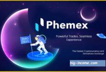 آموزش صرافی phemex
