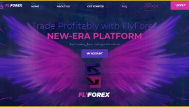 کسب درآمد از سایت Flyforex