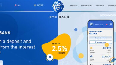 بررسی سایت btc-bank