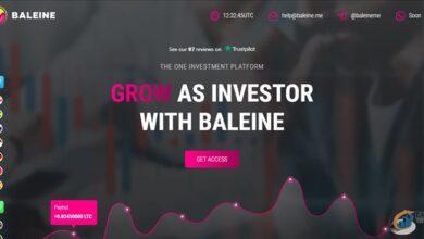 سایت سرمایه گذاری Baleine