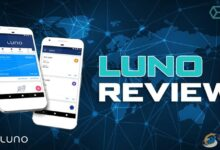 نقد و بررسی صرافی luno
