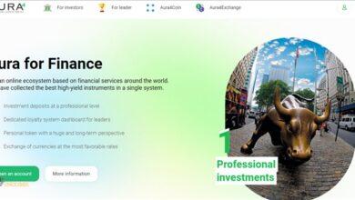 سرمایه گذاری رمز ارز در aura4 finance