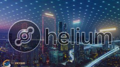 ارز دیجیتال هلیوم (helium)